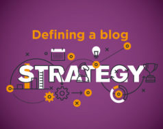 Defining a blog strategy featured image