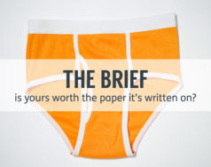 The brief – is yours worth the paper it's written on? featured image