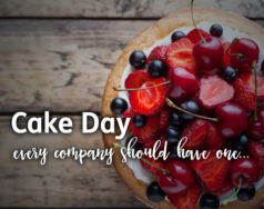 Cake day – every company should have one… featured image