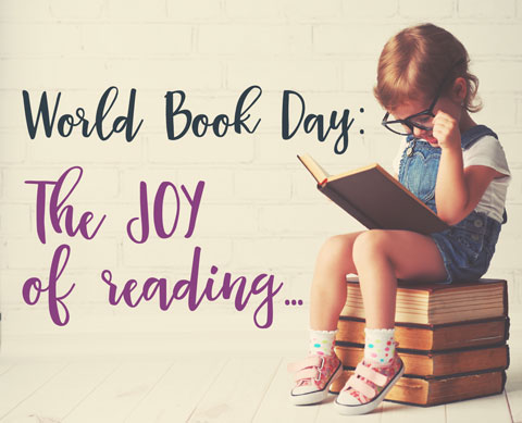 world book day: celebrate the joy of reading