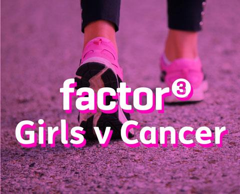 Factor 3 girls run the race for life