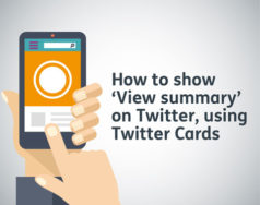 How to show 'View summary' on Twitter, using Twitter Cards featured image