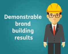 Demonstrable brand building results featured image