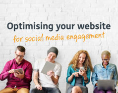 Optimising your website for social media engagement featured image