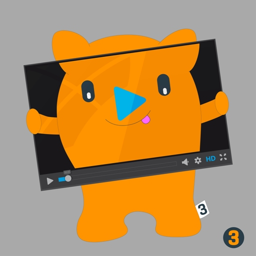 an image showing Fergus, the factor 3 company mascot in his own video