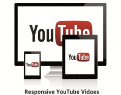 Responsive YouTube embeds featured image removed