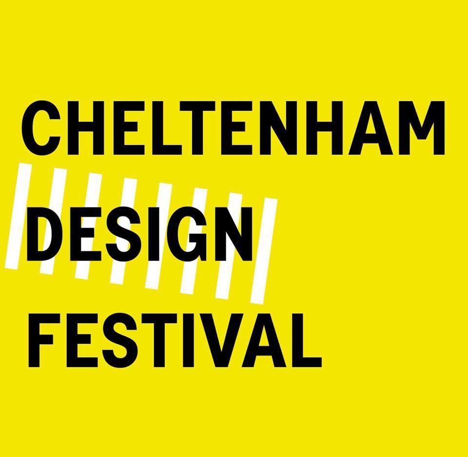 The Cheltenham Design Festival Logo 2014 #DesignCan