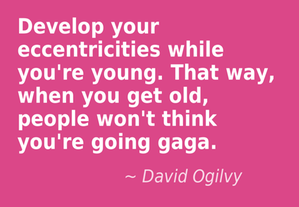 An image including David Ogilvy's creative quote which says: