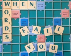When words fail you…try Scrabble! featured image