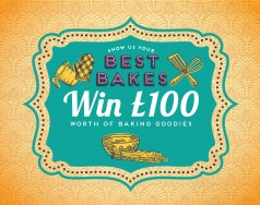 Best bakes competition – win £100 worth of baking goodies featured image removed