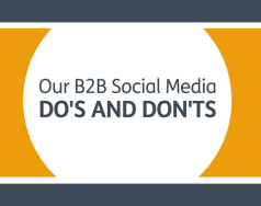 B2B Social Media Do's and Don'ts [VIDEO] featured image