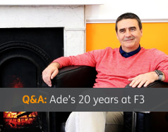 Q&A: Ade's 20 years at F3 [VIDEO] featured image removed