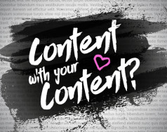 Content with your content? featured image