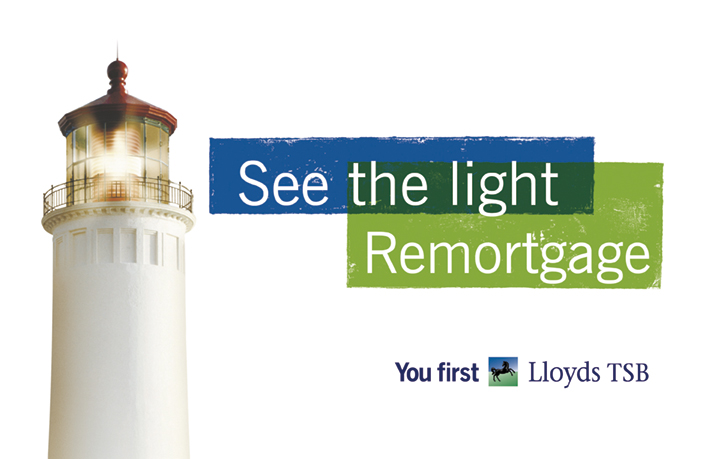 Ade's headline highlights: LLoyds TSB - see the light remortgage