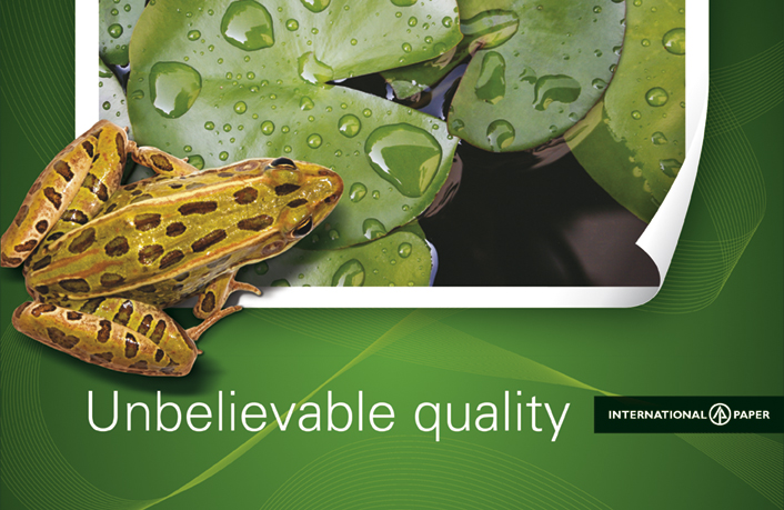 Ade's headline highlights: International Paper - Unbelievable quality