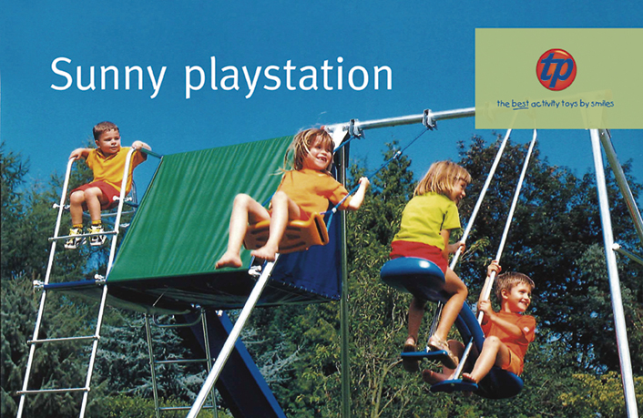 Ade's headline highlights: TP Toys - sunny playstation