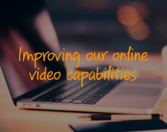 Improving our online video capabilities featured image removed