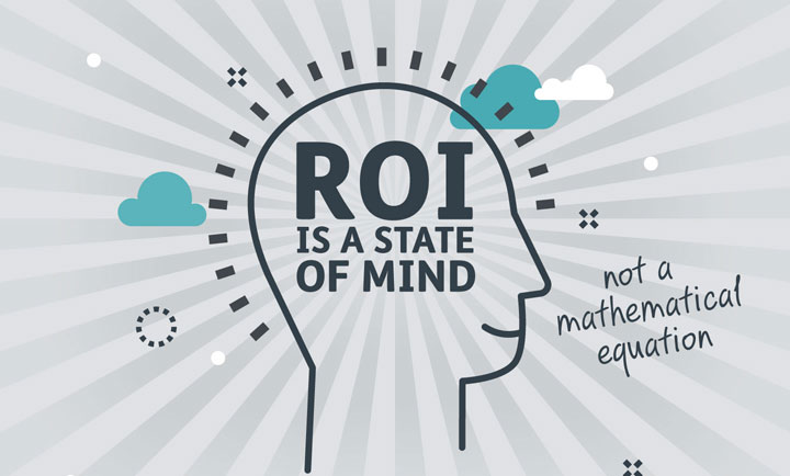 ROI is about a state of mind, not a mathematical equation