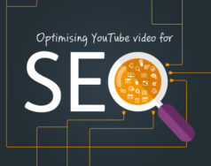 Optimising YouTube video for SEO featured image