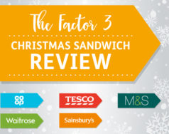 The F3 Christmas sandwich review featured image