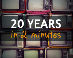 Twenty years in two minutes [VIDEO] featured image removed
