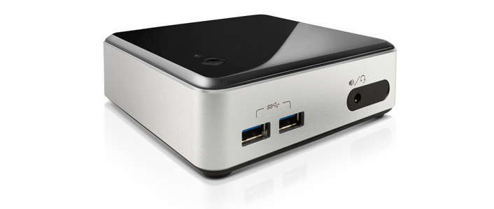 A photo of an intel nuc mini - featured in the gifts for geeks blog