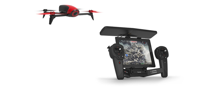 a parrot bebop 3 and sky controller drone - an amazing gift for a geek