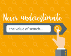 Never underestimate the value of search… blog post image