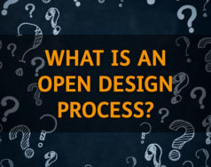 What is an open design process? featured image removed