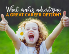 What makes advertising a great career option? featured image removed