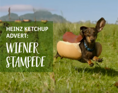 The HEINZ Ketchup ad 'Wiener Stampede' makes me happy and hungry featured image removed