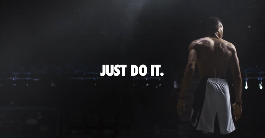 A Nike ad demonstrating the effectiveness of brand guidelines