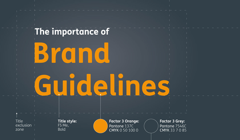 The importance of brand guidelines blog header image