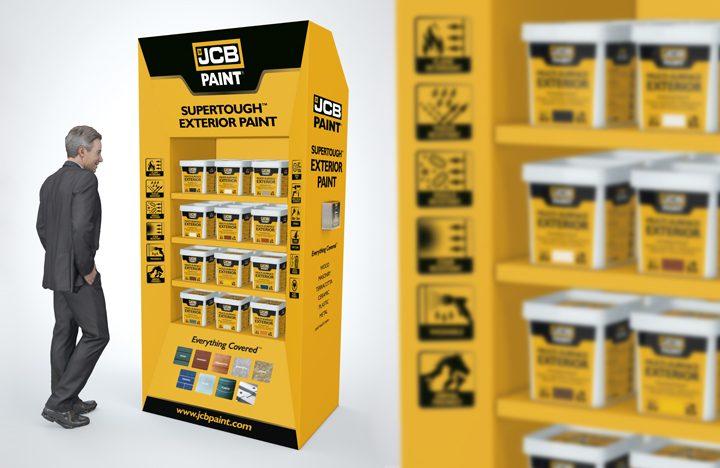 JCB paint
