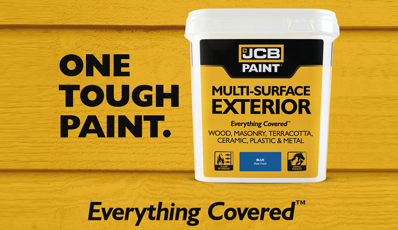 JCB Paint. One tough paint - everything covered