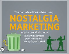 How brands like Halifax and MoneySupermarket.com use nostalgia marketing and the considerations blog post image